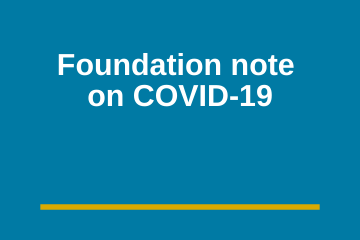 A Note From Health Foundation of South Florida on COVID-19